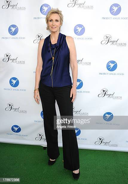 Actress Jane Lynch arrives at Project Angel Food's Annual Angel Awards 2013 honoring Jane Lynch held at Project Angel Food on August 10 2013 in Los...