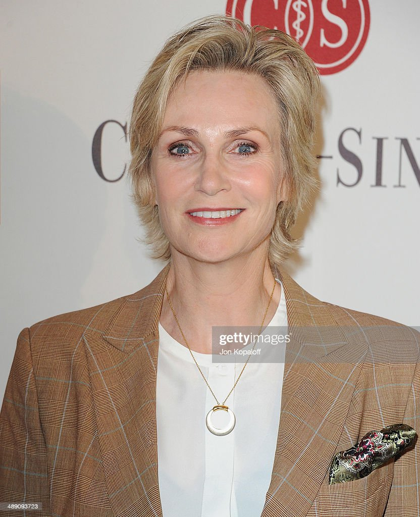 Actress Jane Lynch arrives at The Helping Hand Of Los Angeles Mother's Day Luncheon at The Beverly Hilton Hotel on May 9, 2014 in Beverly Hills, California.