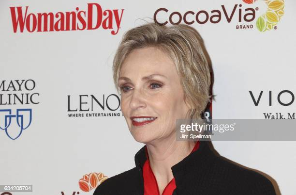 Actress Jane Lynch attend the 14th annual Woman's Day Red Dress Awards at Jazz at Lincoln Center on February 7 2017 in New York City