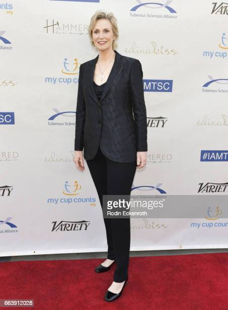 Actress Jane Lynch attends 16th Annual Comedy For A Cure Benefiting The Tuberous Sclerosis Alliance at The Globe Theatre on April 2 2017 in Universal...