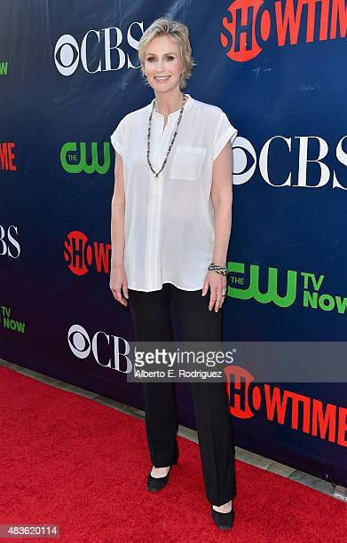 Actress Jane Lynch attends CBS' 2015 Summer TCA party at the Pacific Design Center on August 10 2015 in West Hollywood California
