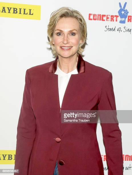 Actress Jane Lynch attends Concert for America Stand Up Sing Out at Royce Hall on May 24 2017 in Los Angeles California