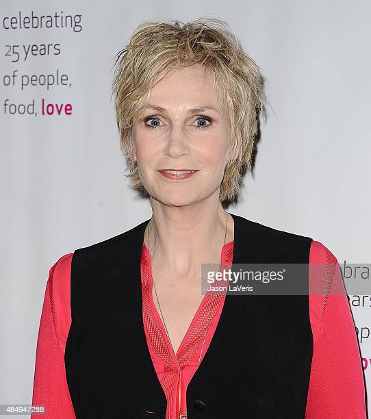 Actress Jane Lynch attends Project Angel Food's 25th Angel Awards gala at Taglyan Cultural Complex on August 22 2015 in Hollywood California
