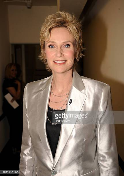 Actress Jane Lynch attends the 2010 VH1 Do Something Awards held at the Hollywood Palladium on July 19 2010 in Hollywood California