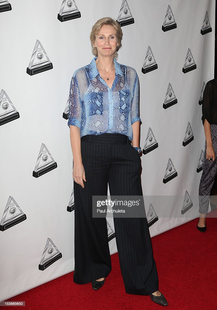 Actress Jane Lynch attends the 2012 Media Access Awards at The Beverly Hilton Hotel on October 10, 2012 in Beverly Hills, California.
