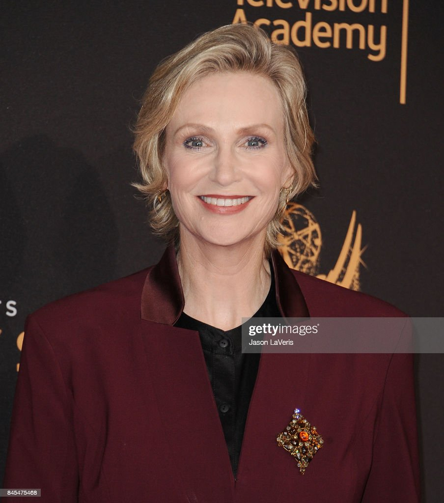 Actress Jane Lynch attends the 2017 Creative Arts Emmy Awards at Microsoft Theater on September 10, 2017 in Los Angeles, California.