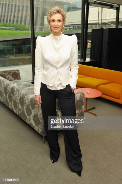 Actress Jane Lynch attends the 40th annual Fifi awards at Alice Tully Hall Lincoln Center on May 21 2012 in New York City
