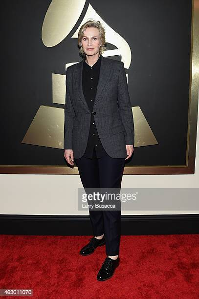 Actress Jane Lynch attends The 57th Annual GRAMMY Awards at the STAPLES Center on February 8 2015 in Los Angeles California