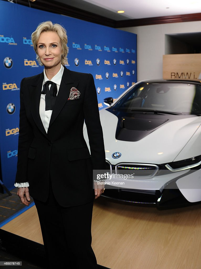 Actress <a gi-track='captionPersonalityLinkClicked' href=/galleries/search?phrase=Jane+Lynch&family=editorial&specificpeople=663918 ng-click='$event.stopPropagation()'>Jane Lynch</a> attends the 66th Annual Directors Guild Of America Awards held at the Hyatt Regency Century Plaza on January 25, 2014 in Century City, California.