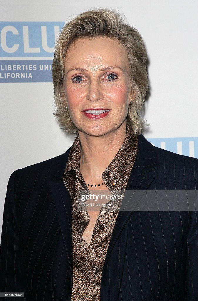 Actress Jane Lynch attends the ACLU of Southern California's 2012 Bill of Rights Dinner at the Beverly Wilshire Four Seasons Hotel on December 3, 2012 in Beverly Hills, California.