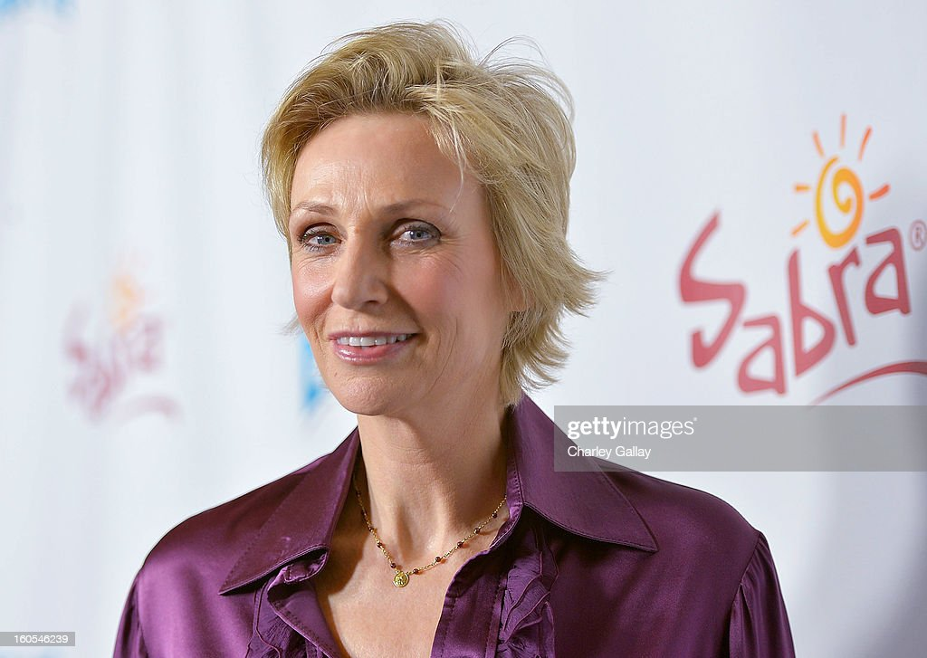 Actress Jane Lynch attends the 'Escape From Planet Earth' premiere presented by The Weinstein Company in partnership with Sabra at Mann Chinese 6 on February 2, 2013 in Los Angeles, California.