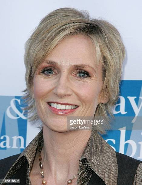 Actress Jane Lynch attends the LA Gay and Lesbian Center's Women's Night at the Henry Fonda Theater on May 3 2008 in Hollywood California