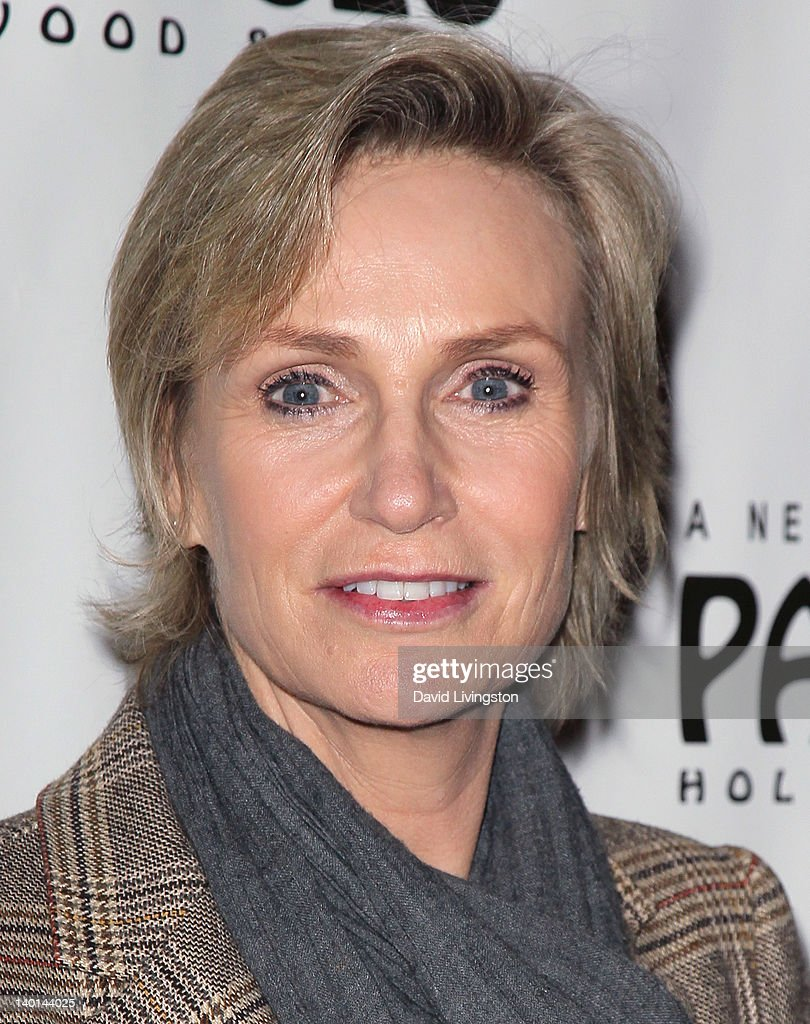 Actress <a gi-track='captionPersonalityLinkClicked' href=/galleries/search?phrase=Jane+Lynch&family=editorial&specificpeople=663918 ng-click='$event.stopPropagation()'>Jane Lynch</a> attends the opening night of 'Monty Python's Spamalot' at the Pantages Theatre on February 28, 2012 in Hollywood, California.