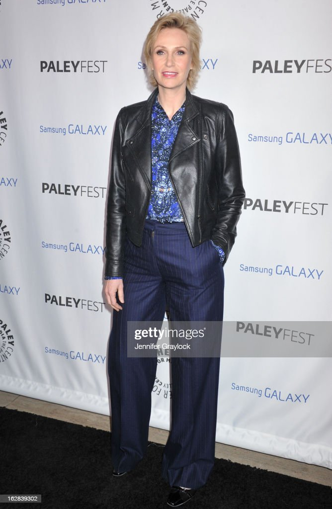 Actress Jane Lynch attends the PaleyFest Icon Award 2013 held at The Paley Center for Media on February 27, 2013 in Beverly Hills, California.