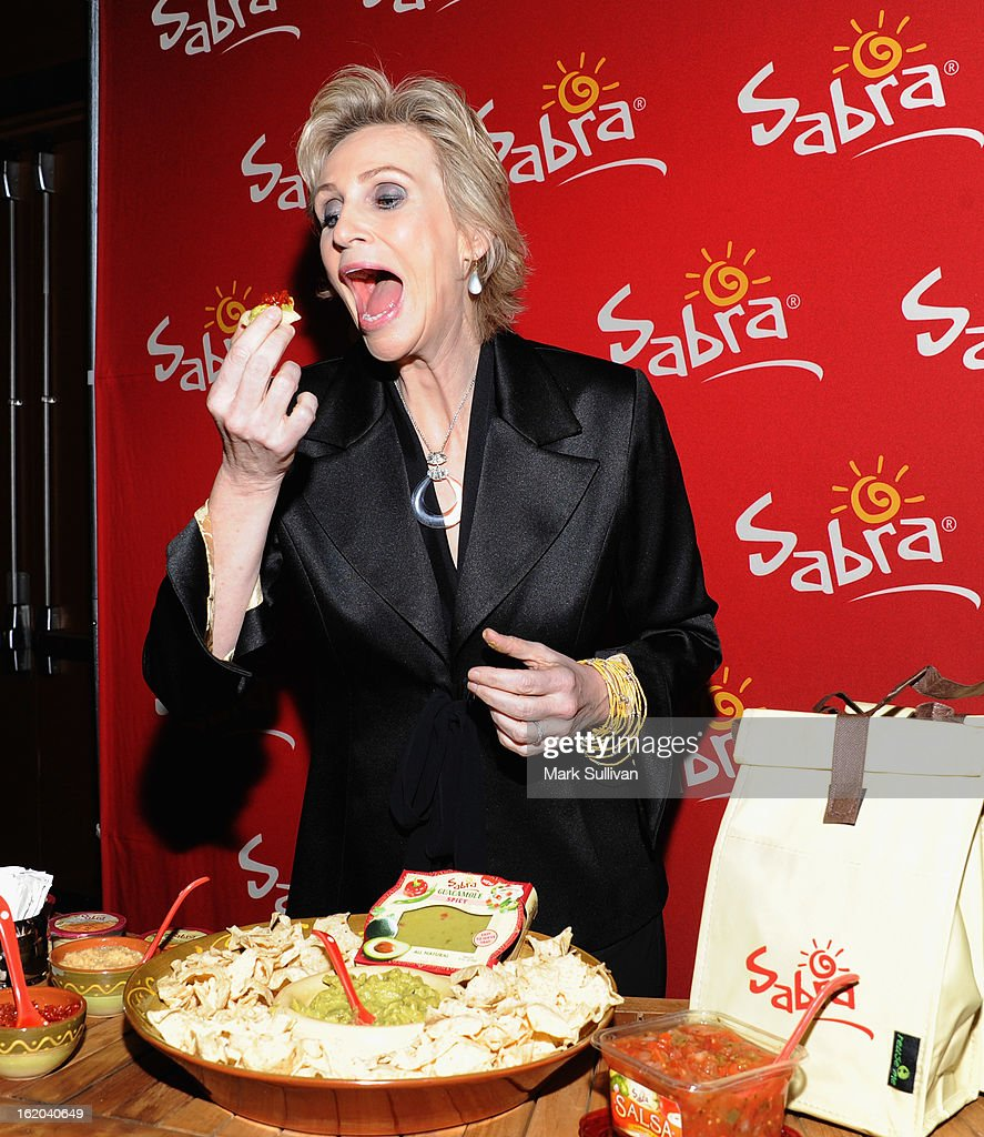 Actress Jane Lynch in the 2013 Writers Guild Awards Backstage Creations Celebrity Retreat on February 17, 2013 in Los Angeles, California.