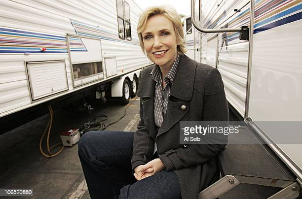 Actress Jane Lynch is photographed at Fox Studios in Los Angeles on October 12 2009 for the Los Angeles Times PUBLISHED IMAGE CREDIT MUST READ Al...