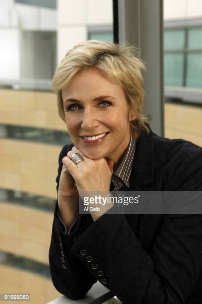 Actress Jane Lynch is photographed at Fox Studios in Los Angeles on October 12 2009 for the Los Angeles Times CREDIT MUST READ Al Seib/Los Angeles...