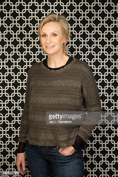 Actress Jane Lynch is photographed at the Sundance Film Festival for Los Angeles Times on January 21 2013 in Park City Utah PUBLISHED IMAGE CREDIT...