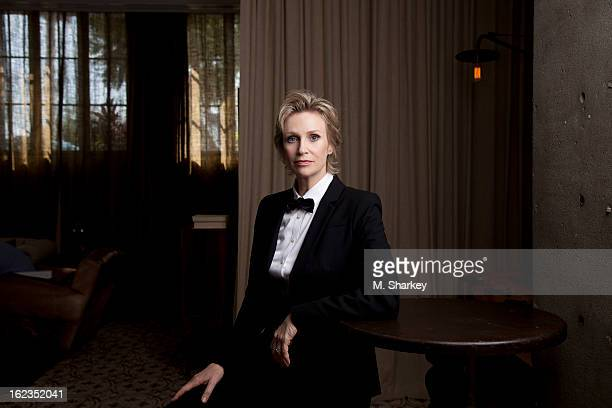 Actress Jane Lynch is photographed for Out Magazine on October 5 2012 at Avi Brosh Palihouse in West Hollywood California