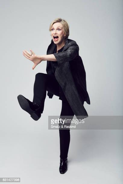 Actress Jane Lynch of Discovery Communications 'Discovery Channel Manhunt Unabomber' poses for a portrait during the 2017 Summer Television Critics...