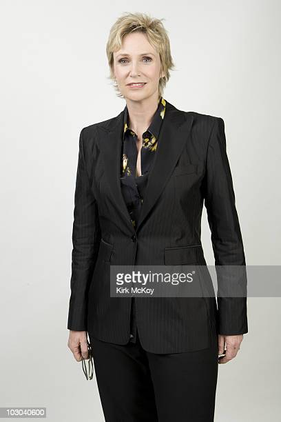 Actress Jane Lynch poses for a portrait session at the VH1 The Do Something Awards on July 19 Hollywood CA Published Image CREDIT MUST READ Kirk...