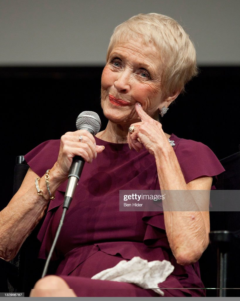 Actress Jane Powell attends An Evening With Jane Powell at The Film Society of Lincoln Center Walter Reade Theatre on November 15 2011 in New York...