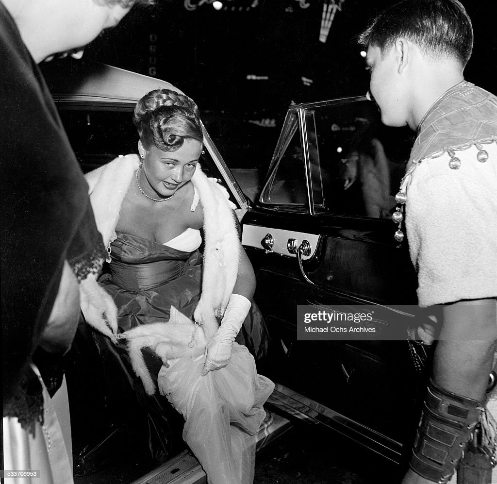 Actress Jane Powell attends the premiere of 'David and Bathsheba' in Los AngelesCA