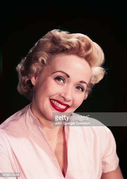 Actress Jane Powell Smiling