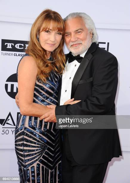 Actress Jane Seymour and director David Green attend the AFI Life Achievement Award gala at Dolby Theatre on June 8 2017 in Hollywood California