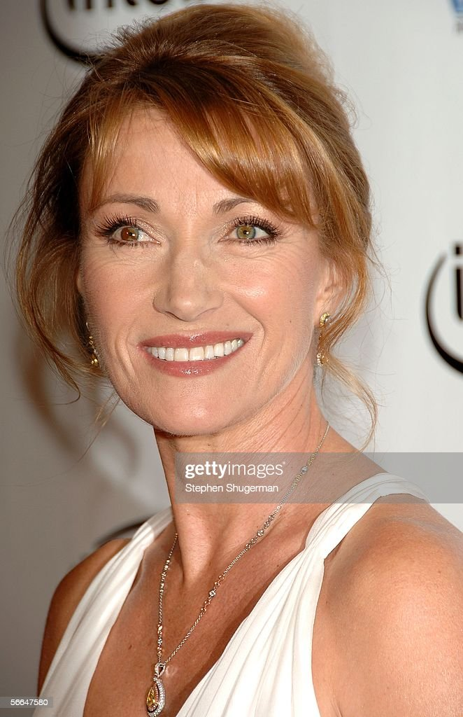 Actress Jane Seymour arrives at the 2006 Producers Guild awards held at the Universal Hilton on January 22 2006 in Universal City California