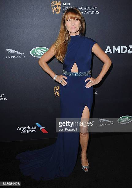 Actress Jane Seymour arrives at the 2016 AMD British Academy Britannia Awards Presented by Jaguar Land Rover And American Airlines at The Beverly...