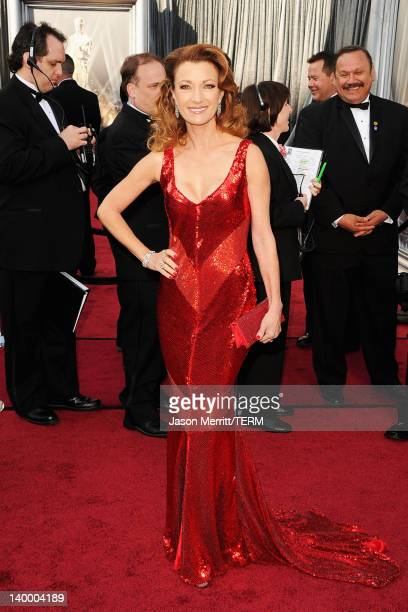 Actress Jane Seymour arrives at the 84th Annual Academy Awards held at the Hollywood Highland Center on February 26 2012 in Hollywood California
