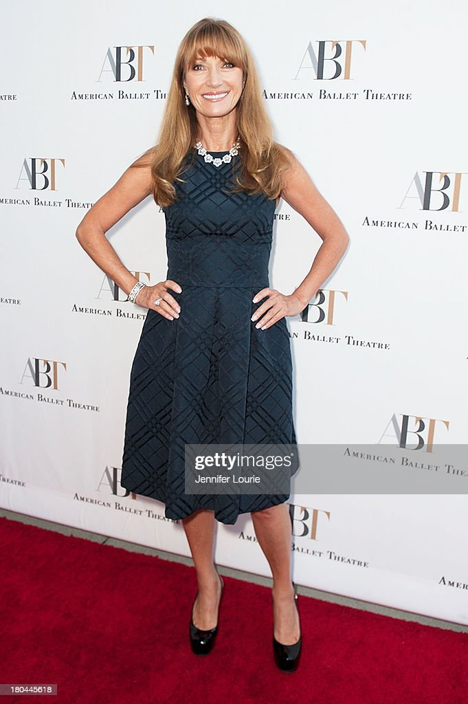 Actress Jane Seymour arrives at the American Ballet Theatre's Annual Fundraiser 'Stars Under the Stars: An Evening in Los Angeles' at private residence on September 12, 2013 in Beverly Hills, California.