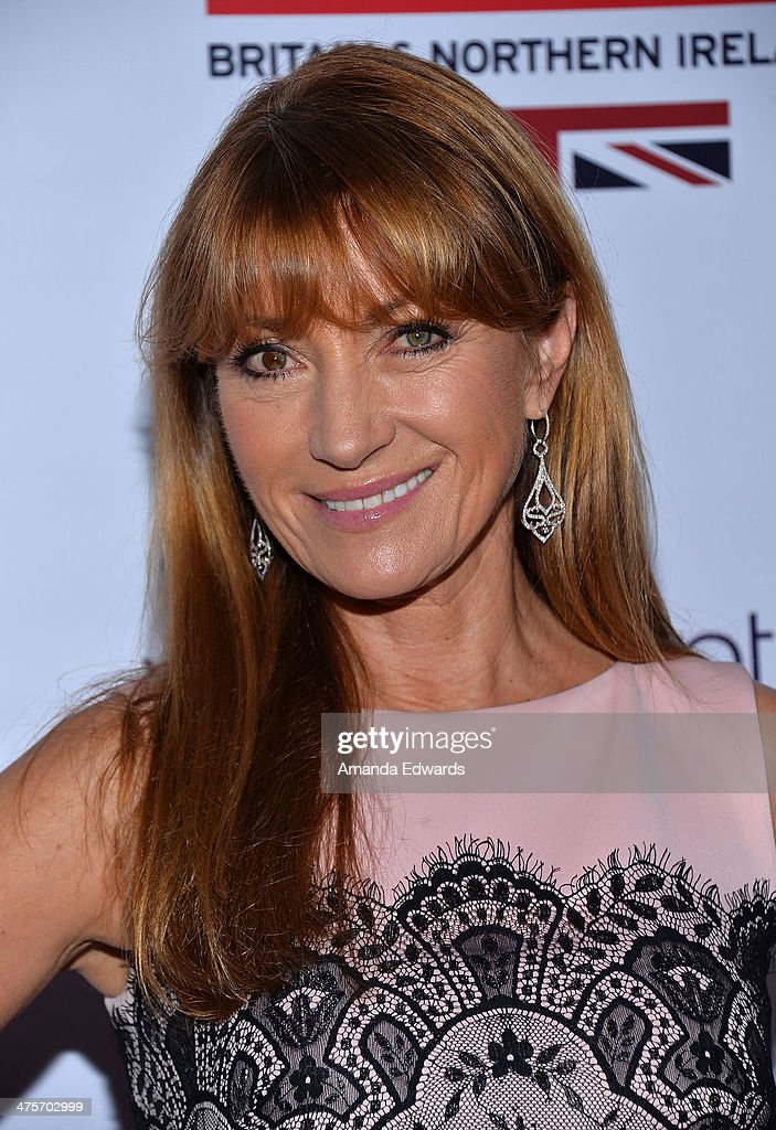 Actress Jane Seymour arrives at the GREAT British Film Reception honoring the British Nominees of The 86th Annual Academy Awards at British Consul General's Residence on February 28, 2014 in Los Angeles, California.
