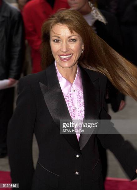 Actress Jane Seymour arrives at the premiere of the movie 'I Dreamed of Africa' 18 April at the Sony Theatres Lincoln Square in New York Kim Basinger...