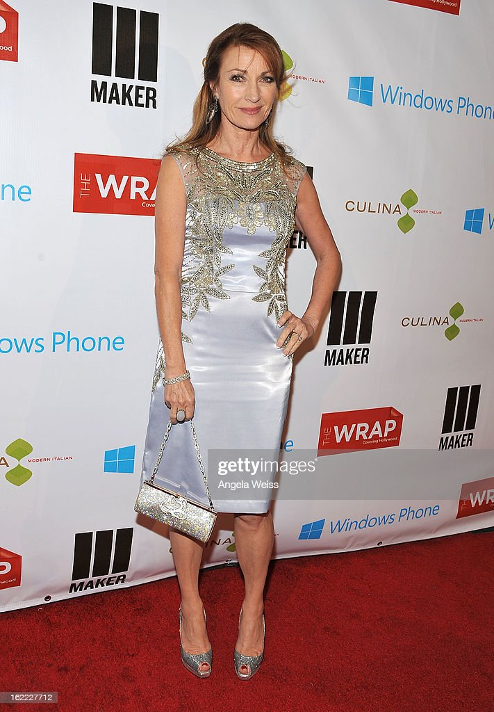 Actress Jane Seymour arrives at TheWrap 4th Annual Pre-Oscar Party at Four Seasons Hotel Los Angeles at Beverly Hills on February 20, 2013 in Beverly Hills, California.