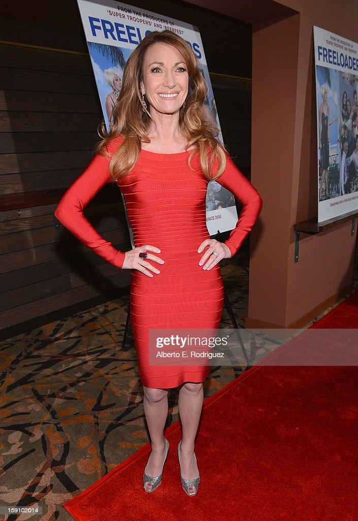 Actress Jane Seymour arrives to the premiere of Salient Media's 'Freeloaders' at Sundance Cinema on January 7, 2013 in Los Angeles, California.
