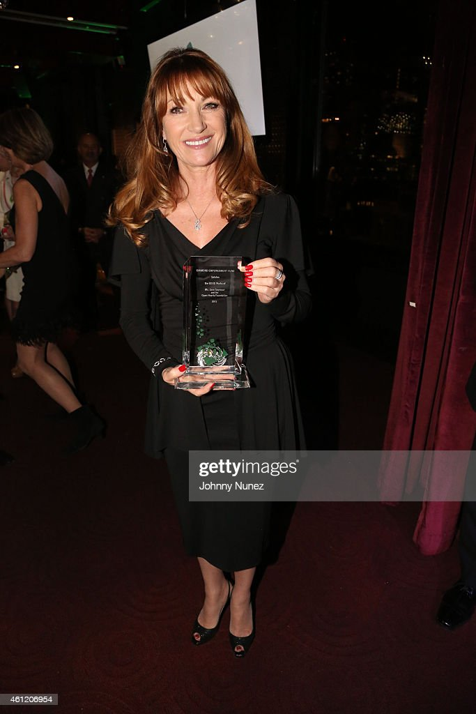 Actress <a gi-track='captionPersonalityLinkClicked' href=/galleries/search?phrase=Jane+Seymour+-+Actress&family=editorial&specificpeople=203060 ng-click='$event.stopPropagation()'>Jane Seymour</a> attends 2015 Diamond Empowerment Fund The Good Awards at Empire Hotel on January 8, 2015 in New York City.
