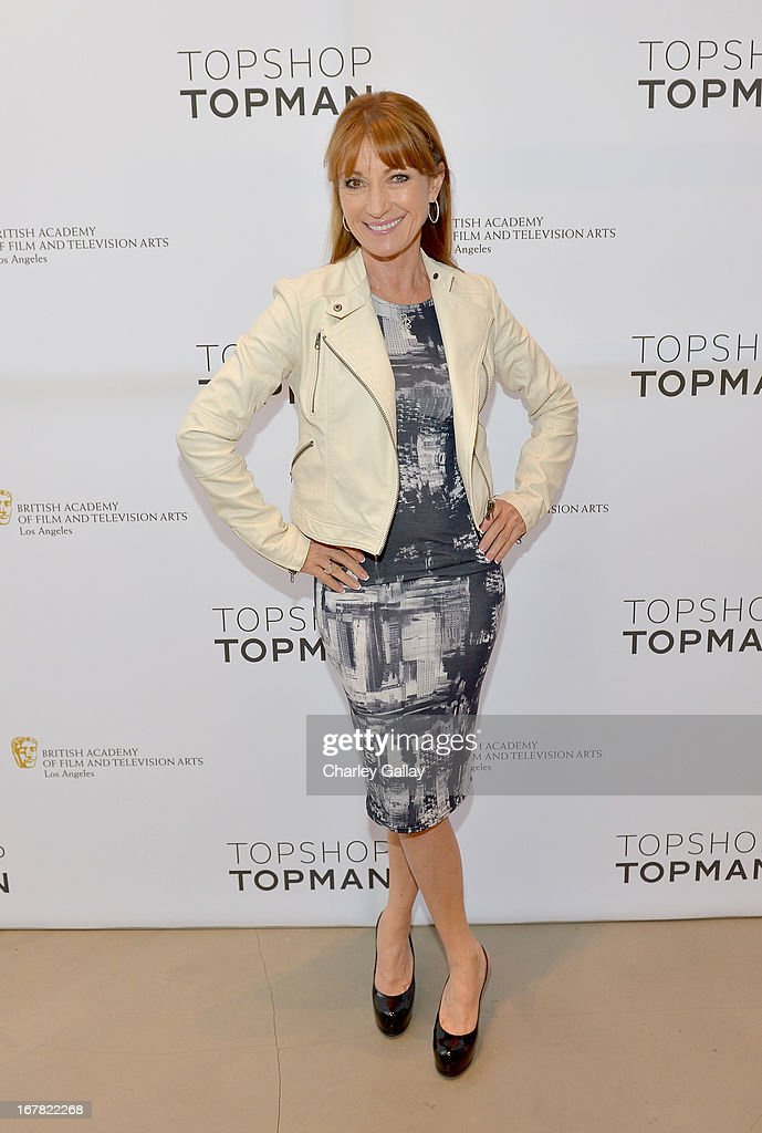 Actress <a gi-track='captionPersonalityLinkClicked' href=/galleries/search?phrase=Jane+Seymour+-+Actress&family=editorial&specificpeople=203060 ng-click='$event.stopPropagation()'>Jane Seymour</a> attends BAFTA Los Angeles and Sir Philip Green Celebrate the British New Wave at Topshop Topman at The Grove on April 30, 2013 in Los Angeles, California.