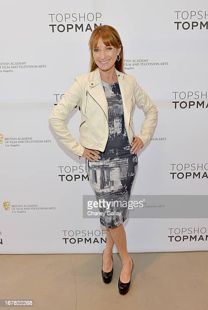 Actress Jane Seymour attends BAFTA Los Angeles and Sir Philip Green Celebrate the British New Wave at Topshop Topman at The Grove on April 30 2013 in...