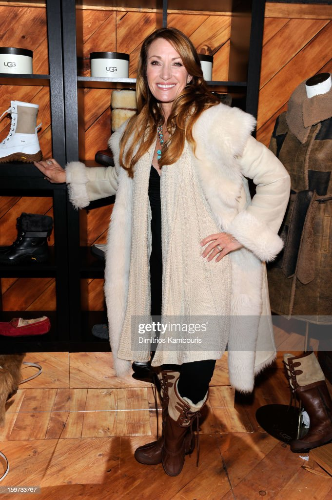 Actress Jane Seymour attends Day 2 of Village At The Lift 2013 on January 19, 2013 in Park City, Utah.
