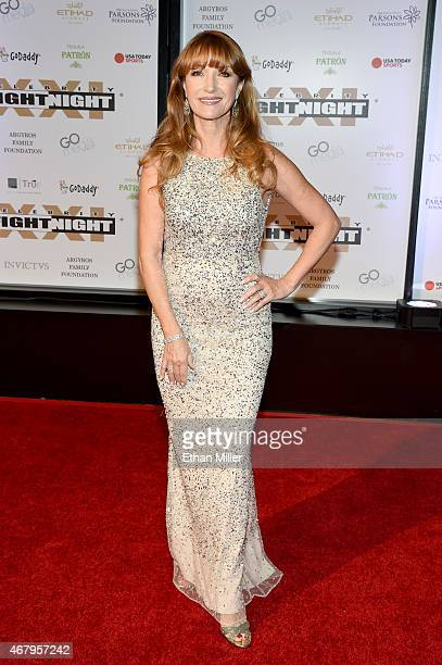 Actress Jane Seymour attends Muhammad Ali's Celebrity Fight Night XXI at the JW Marriott Phoenix Desert Ridge Resort Spa on March 28 2015 in Phoenix...