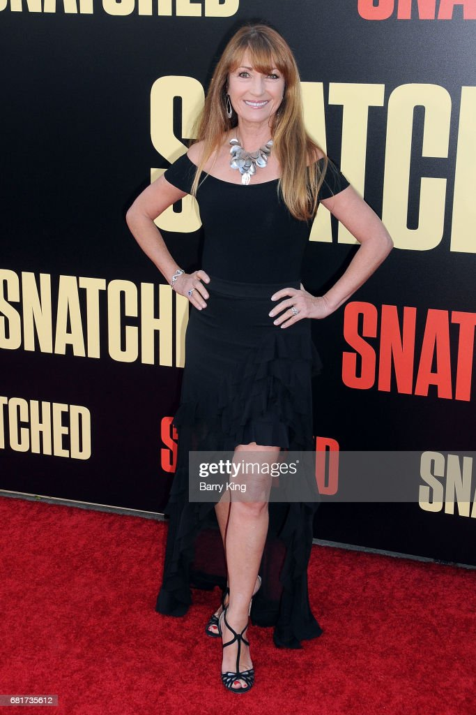 Actress Jane Seymour attends premiere of 20th Century Fox's' 'Snatched' at Regency Village Theatre on May 10, 2017 in Westwood, California.