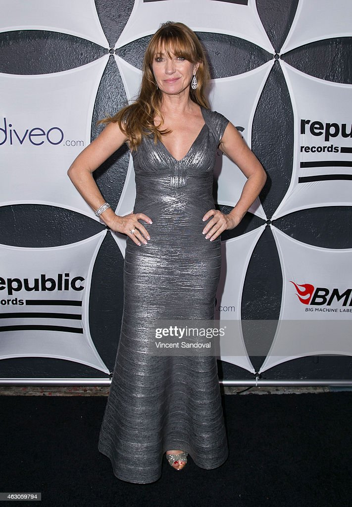 Actress <a gi-track='captionPersonalityLinkClicked' href=/galleries/search?phrase=Jane+Seymour+-+Actress&family=editorial&specificpeople=203060 ng-click='$event.stopPropagation()'>Jane Seymour</a> attends Republic Records and Big Machine Label Group post GRAMMY celebration at Warwick on February 8, 2015 in Los Angeles, California.