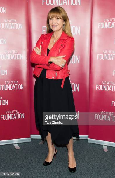 Actress Jane Seymour attends SAGAFTRA Foundation Conversations Screening Of 'Pray For Rain' at SAGAFTRA Foundation Screening Room on June 26 2017 in...