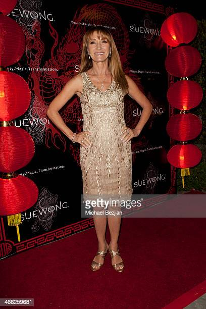 Actress Jane Seymour attends Sue Wong Hosts Party Celebrating The Chinese New Year Year Of The Horse at The Cedars on January 31 2014 in Los Angeles...