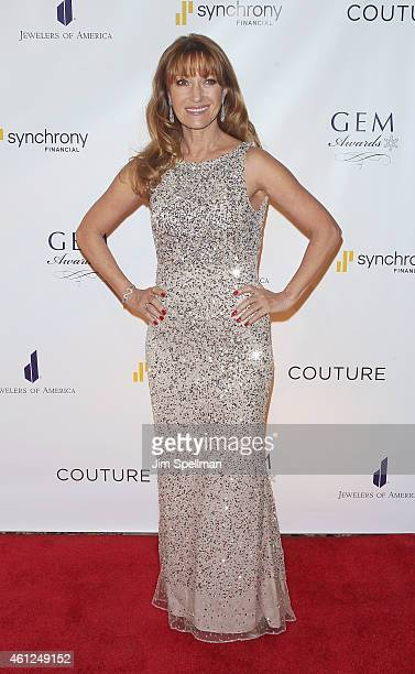 Actress Jane Seymour attends the 13th Annual GEM Awards Gala at Cipriani 42nd Street on January 9 2015 in New York City