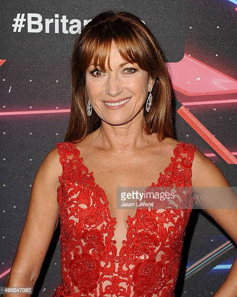 Actress Jane Seymour attends the 2015 British Academy Britannia Awards at The Beverly Hilton Hotel on October 30 2015 in Beverly Hills California