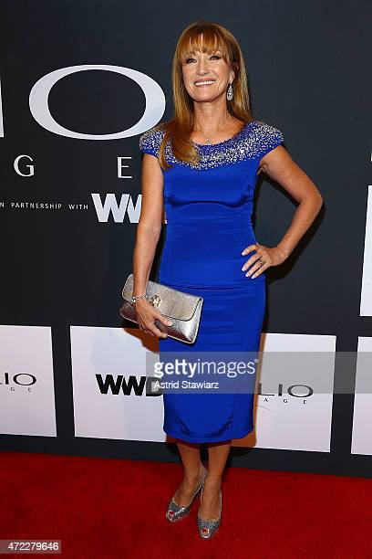 Actress Jane Seymour attends the 2015 CLIO Awards at The Plaza Hotel on May 5 2015 in New York City