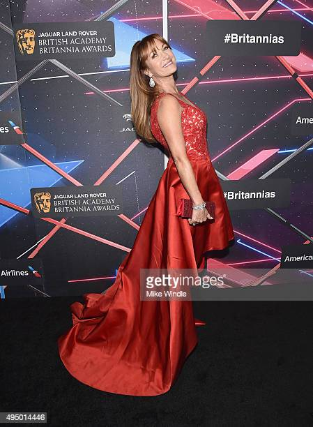 Actress Jane Seymour attends the 2015 Jaguar Land Rover British Academy Britannia Awards presented by American Airlines at The Beverly Hilton Hotel...